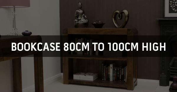 Bookcase 80cm to 100cm High