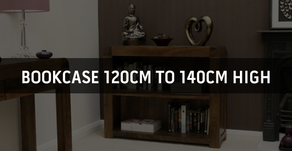 Bookcase 120cm to 140cm High