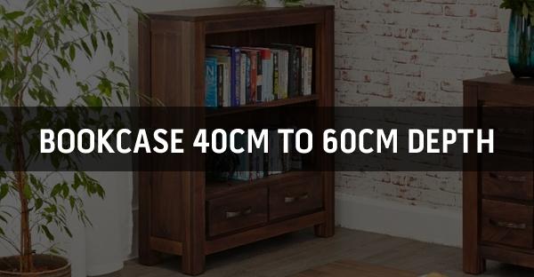 Bookcase 40cm to 60cm Depth