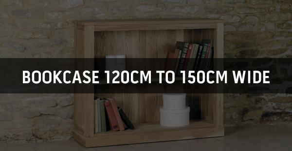Bookcase 120cm to 150cm Wide