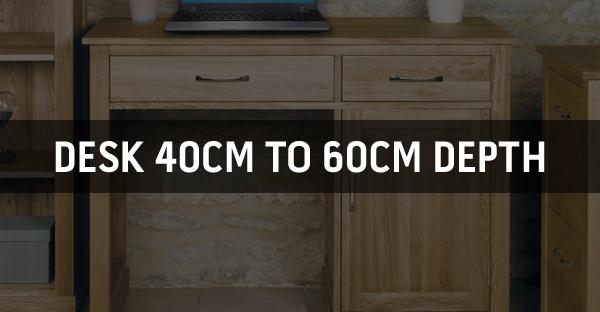 Desk 40cm to 60cm Depth