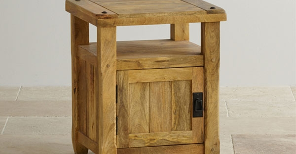 Bedside Tables with Doors