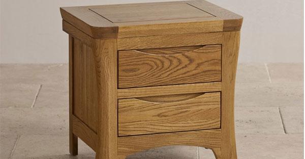 2 Drawer Bedside Table