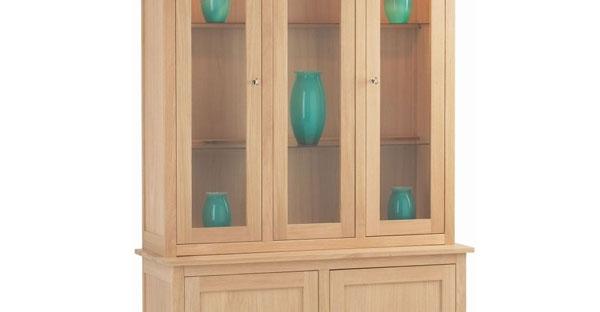 3 Door Display Cabinet