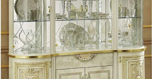 4 Door Display Cabinet
