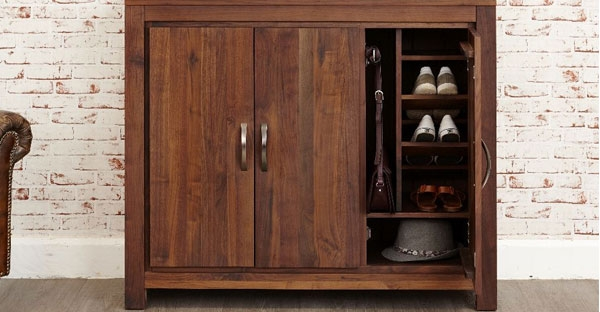 3 Door Shoe Cabinet