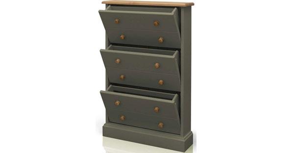 3 Drawer Shoe Cabinet