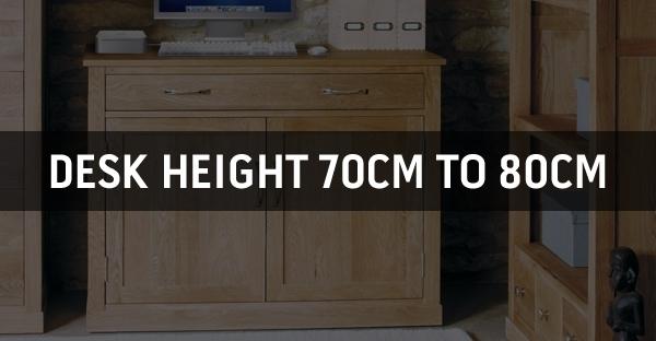 Desk Height 70cm to 80cm