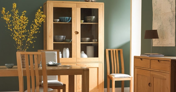 Ercol Display Cabinets