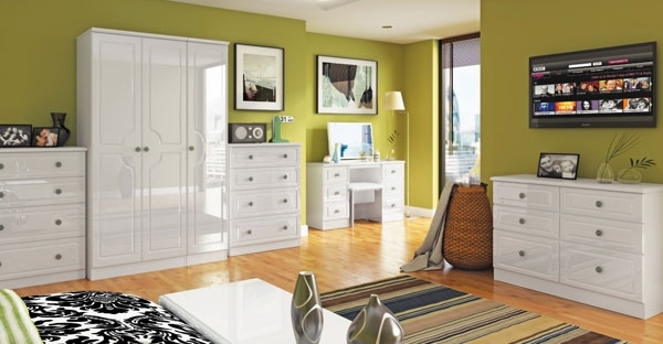 Ready Assembled White Bedroom Furniture