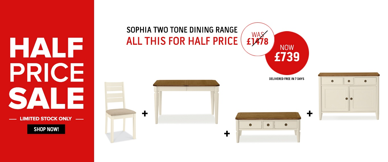 Half Price Sophia Two Tone