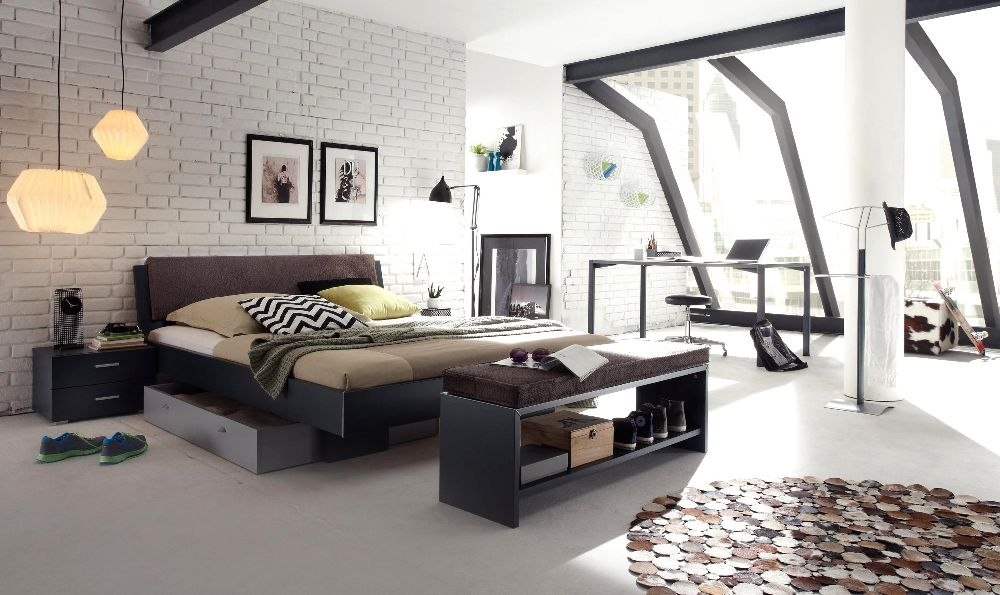 Bedroom Colour Ideas for Dark Furniture