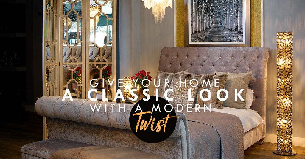 Give Your Home a Classic Look With a Modern Twist