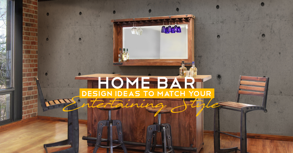 Home Bar Design Ideas to Match Your Entertaining Style