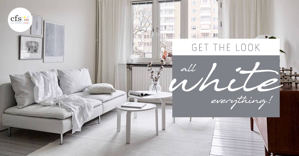 Get the Look- All White Everything