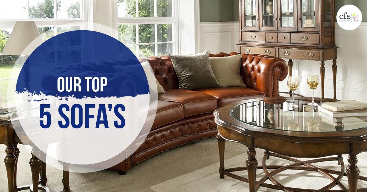 Our Top 5 Sofa's
