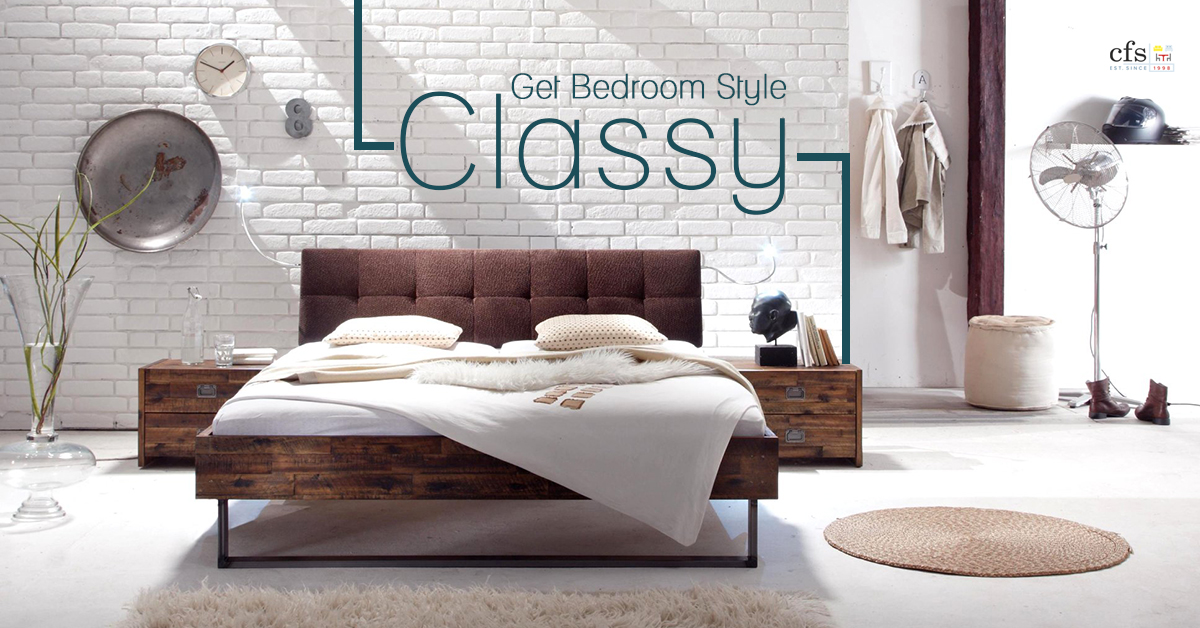 Get Bedroom Style: Classy