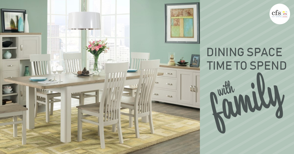 Dining Space: Time to Spend with Family