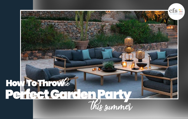 How to Throw the Perfect Garden Party This Summer