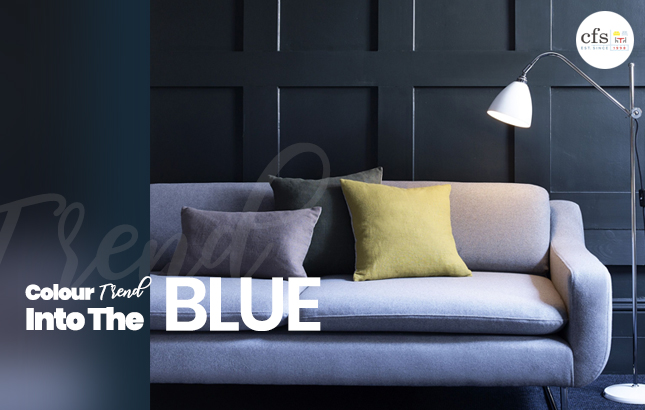 Colour Trend: Into The Blue