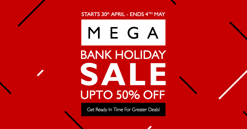 May Day Bank Holiday Sales 2021 Special offers on High Street Brands