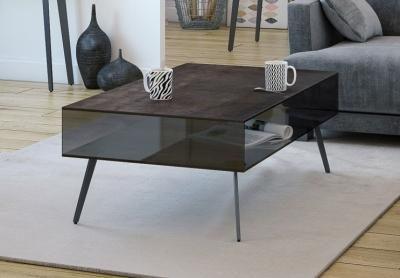 Boston Black Ceramic Coffee Table