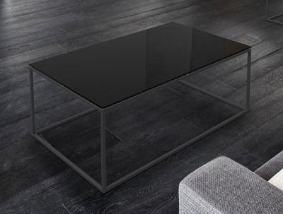 Julia Black Glass Coffee Table