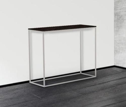 Julia Steel Ceramic and Chrome Console Table