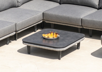Alexander Rose Cordial Luxe Light Grey Coffee Table with HPL Top