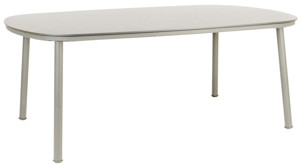 Alexander Rose Cordial Beige 200cm Dining Table with Sand HPL Top