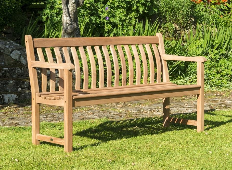 Alexander Rose Mahogany Wood Broadfield Bench 5ft