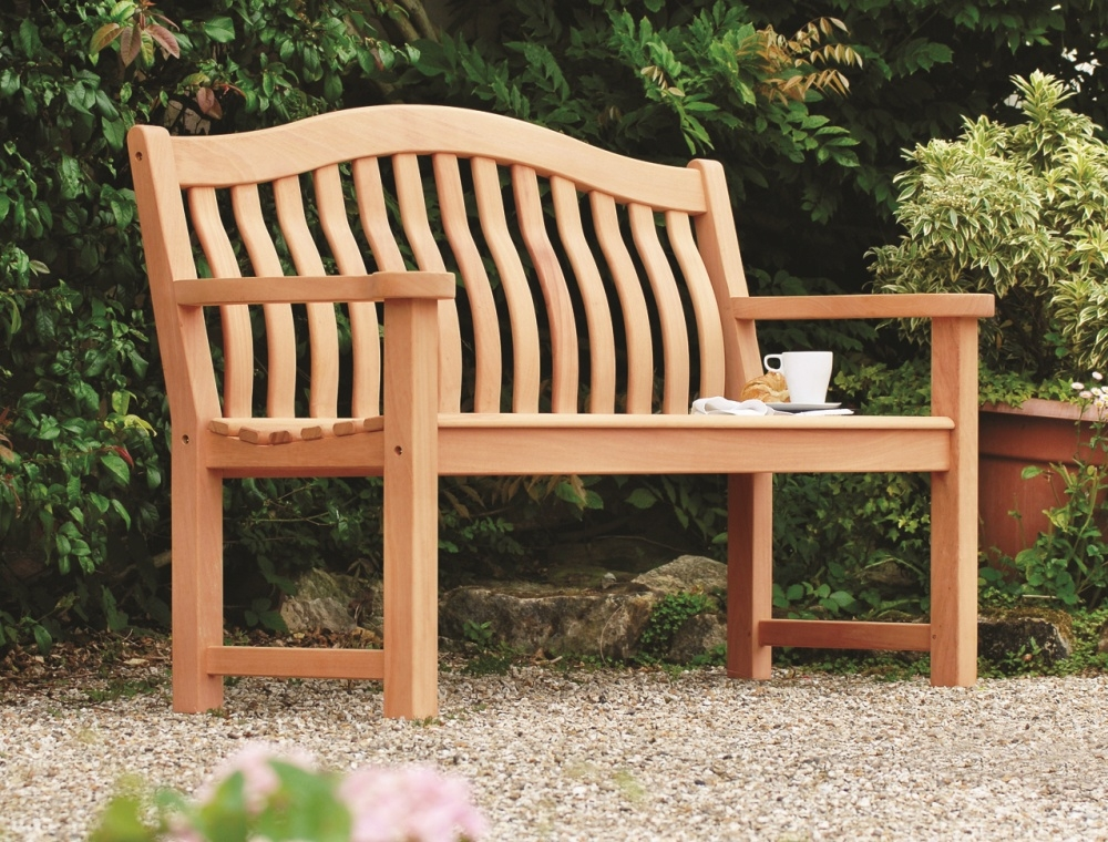 Alexander Rose Mahogany Wood Turnberry Bench 5ft