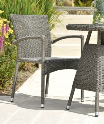 Alexander Rose Monte Carlo Stacking Armchair (Pair)