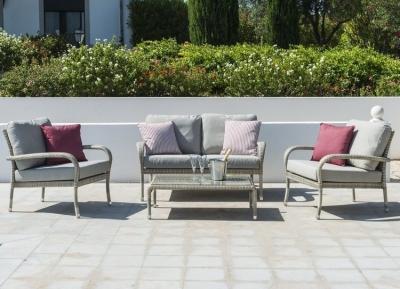 Alexander Rose Ocean Pearl 2 Seater Lounge Sofa Set