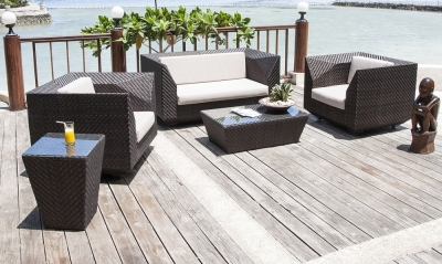 Alexander Rose Ocean Maldives 2+1+1 Sofa Set