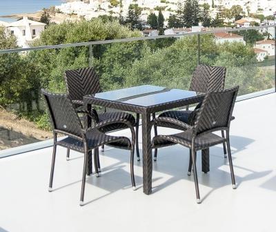 Alexander Rose Ocean Fiji 80cm Square Dining Table