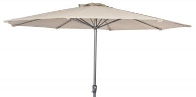 Alexander Rose Aluminium Ecru 300cm Round Tilting Parasol Crank