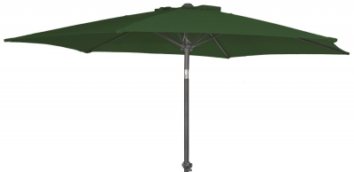 Alexander Rose Aluminium Green 270cm Round Tilting Parasol Crank
