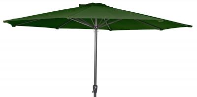 Alexander Rose Aluminium Green 300cm Round Tilting Parasol Crank