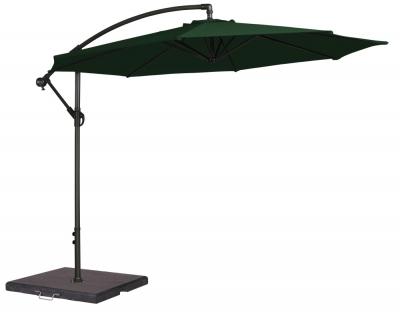 Alexander Rose Cantilever Green 300cm Round Parasol