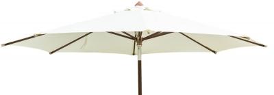 Alexander Rose Hardwood Ecru Luxury 350cm Round Pulley