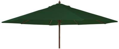 Alexander Rose Hardwood Green 270cm Round Parasol