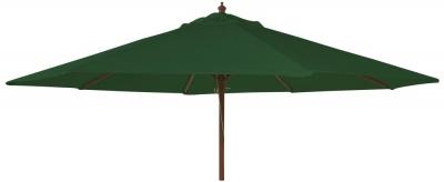 Alexander Rose Hardwood Green 300cm Round Parasol