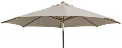 Alexander Rose Hardwood Taupe Luxury 300cm Round Pulley