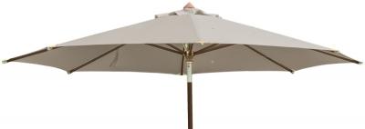 Alexander Rose Hardwood Taupe Luxury 350cm Round Pulley