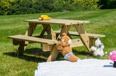 Alexander Rose Pine Childrens Picnic Table