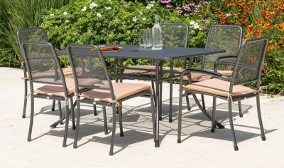 Alexander Rose Portofino 145cm Dining Table