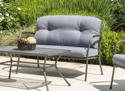 Alexander Rose Portofino 2 Seater Sofa with Cushions