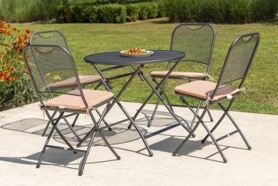 Alexander Rose Portofino Round Folding Table