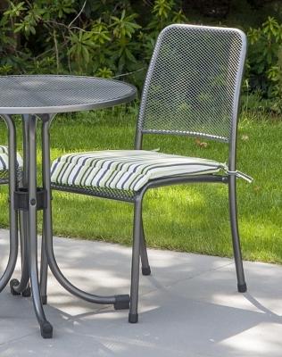 Alexander Rose Portofino Stacking Side Chair (Pair)
